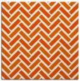 rug #739573 | square red-orange popular rug