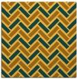 rug #739609 | square yellow rug