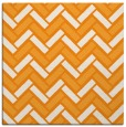 rug #739649 | square light-orange retro rug