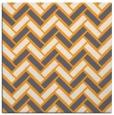 rug #739653 | square light-orange retro rug