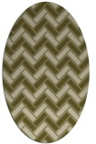 rug #739990   oval retro rug