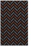 rug #740017 |  black retro rug