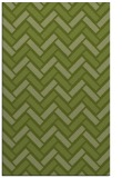 rug #740133 |  green retro rug