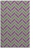 rug #740189 |  purple retro rug