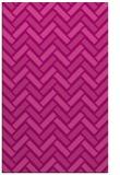 rug #740217 |  pink retro rug