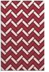 rug #740221    pink retro rug