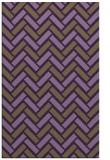 rug #740241 |  mid-brown retro rug
