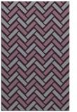 rug #740245    purple retro rug