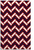 rug #740249 |  red retro rug