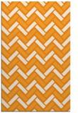 rug #740353 |  light-orange retro rug