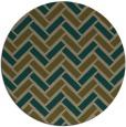 rug #740484 | round retro rug