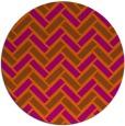 rug #740626 | round retro rug