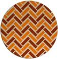 rug #740677 | round beige retro rug