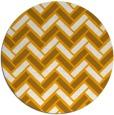 rug #740697   round light-orange rug