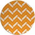rug #740705 | round light-orange retro rug