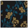 rug #741085 | square black natural rug