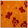 rug #741253   square red-orange natural rug