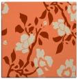 rug #741261 | square orange rug