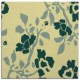 rug #741269 | square yellow rug
