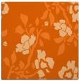 rug #741325 | square red-orange natural rug