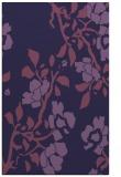 rug #741865 |  blue-violet natural rug
