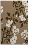 rug #741921 |  mid-brown natural rug
