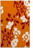 rug #741961 |  orange natural rug