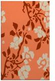 rug #741965 |  orange natural rug