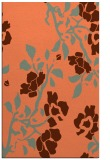 rug #741969 |  orange natural rug