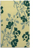 rug #741973 |  yellow natural rug