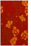 rug #742013 |  orange natural rug