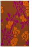 rug #742033 |  red-orange rug