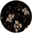 rug #742133 | round beige natural rug