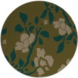 rug #742241 | round mid-brown natural rug