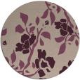 rug #742277   round pink rug