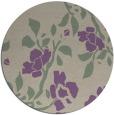 rug #742301 | round beige natural rug