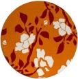 rug #742313 | round orange rug