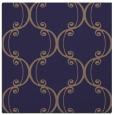 rug #742933 | square blue-violet damask rug
