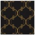 rug #742941   square black damask rug