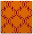 rug #743013 | square red-orange damask rug