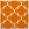 rug #743017 | square orange damask rug