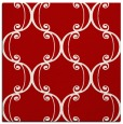 rug #743065 | square red traditional rug