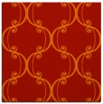 rug #743069 | square red traditional rug