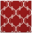 rug #743073 | square red traditional rug