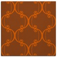 rug #743089 | square red-orange traditional rug