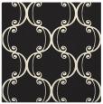 rug #743133 | square black damask rug
