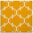 rug #743161 | square light-orange damask rug
