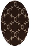 rug #743191 | oval damask rug