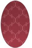 rug #743271 | oval traditional rug