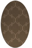 rug #743287 | oval traditional rug